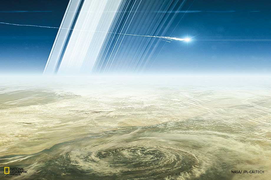 Cassini, revelou aspectos desconhecidos do Sistema Solar